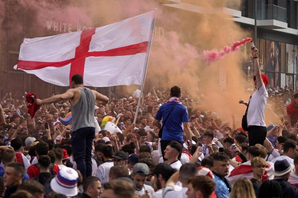 UEFA charges FA over fans' disturbance in Euro final.