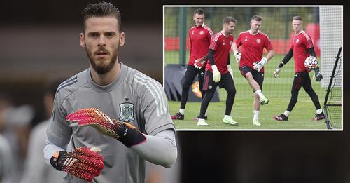David de Gea decided to cut off his vacation to return to the club